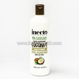 Revitalizing hair conditioner from Inecto «Pure Coconut» on the basis of 100% coconut oil