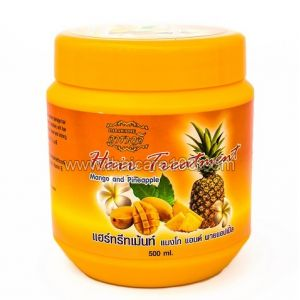 Маска для волос  Darawadee с натуральными маслами ананаса и манго Hair Treatment Mango and Pineapple