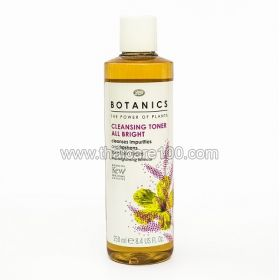 Revitalizing tonic for skin with enlarged pores Botanics all bright Cleansing toner