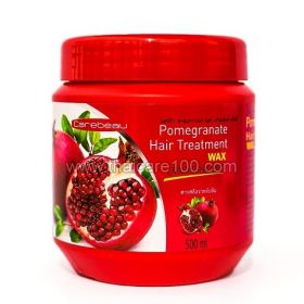 Restoring activated hair mask with natural oil pomegranate Carebeau Pomegranate Hair Mask