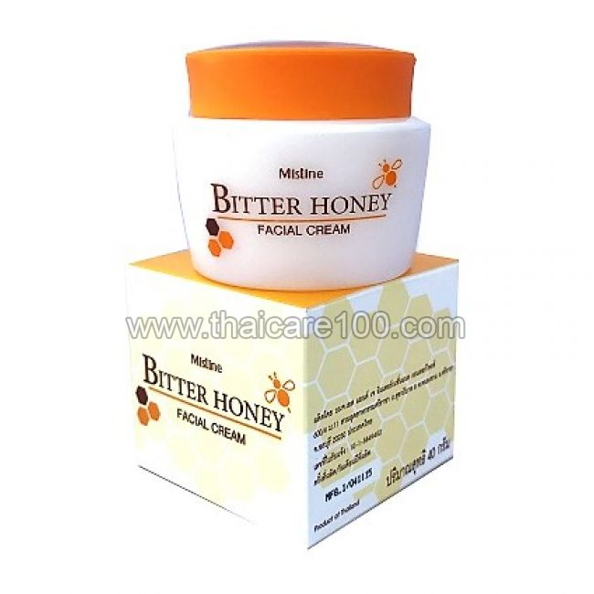 Крем-масло на меду Mistine Bitter Honey Facial Cream