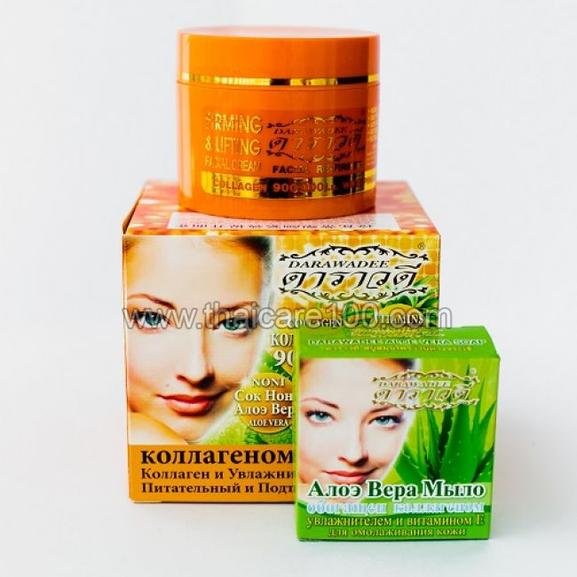 Крем для лица с АНА кислотами натурального ананаса и коллагеном  Pineapple Facial Cream