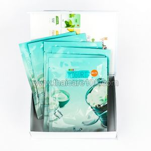 Маска для лица тканевая с йогуртом и коллагеном 3D Yogurt Facial Mask Belov