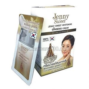 Женьшеневый крем Jenny Sweet Whitening Ginseng Cream