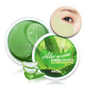 Гидрогелевые патчи с алое Bania Natural Aloe Hydrogel Eye Patch
