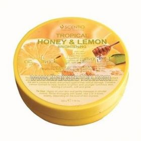 Сияющий скраб для тела Мед с Лимоном Scentio Honey&Lemon Brightening body Scrub