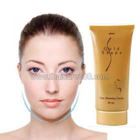 for the correction of facial contours Unique Cream Gold Shape Slimming Face