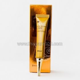 The gel for the eye area by snail enzyme and stem cells of the cochlea Han Jia Ne Snail Care Whitening Repairing Eye Gel