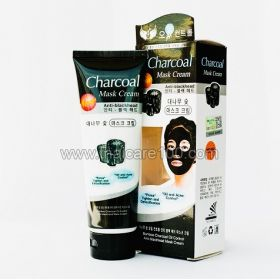 Black Mask for face-film based on bamboo charcoal Charcoal Mask Cream