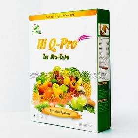 Activated fiber HI Q-PRO to lose weight and cleanse the body