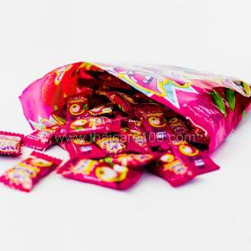 Chewing candies with natural juice Lychee Thai