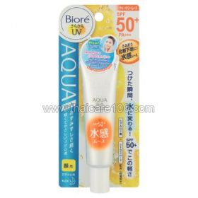 Waterproof sunscreen-base Biore UV Watery Mousses Water Base SPF50