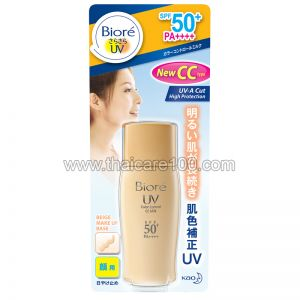 Идеальный СС крем Bioré UV Color Control SPF50+ PA+++ CC Milk