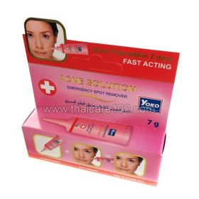Ambulance in acne, pimples and blackheads Yoko Acne Solution Cream