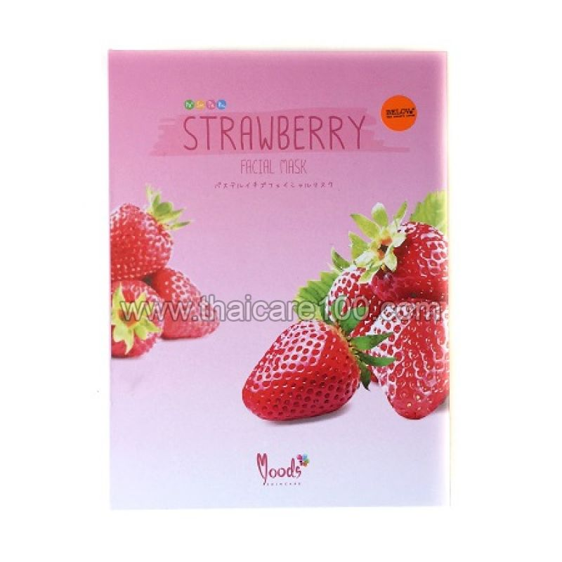 Клубничная тканевая маска для лица Belov Strawberry Facial Mask