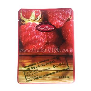 Корейская маска для лица с натуральным экстрактом Малины Facial Mask with Raspberry Extract